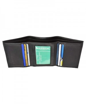 Marshal Genuine Leather Classic Trifold