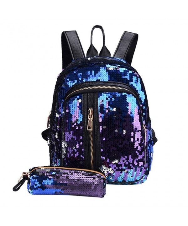 Hemlock Bags Sequins Backpacks Shoulder