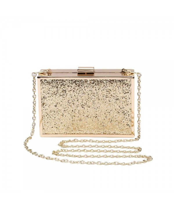 Womens Glitter Evening Crossbody Wedding