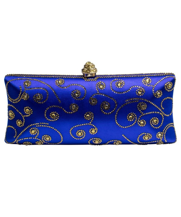 DMIX Crystal Clutch Evening Blue