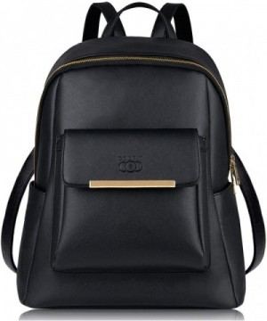 COOFIT Leather Backpack Waterproof Fashion