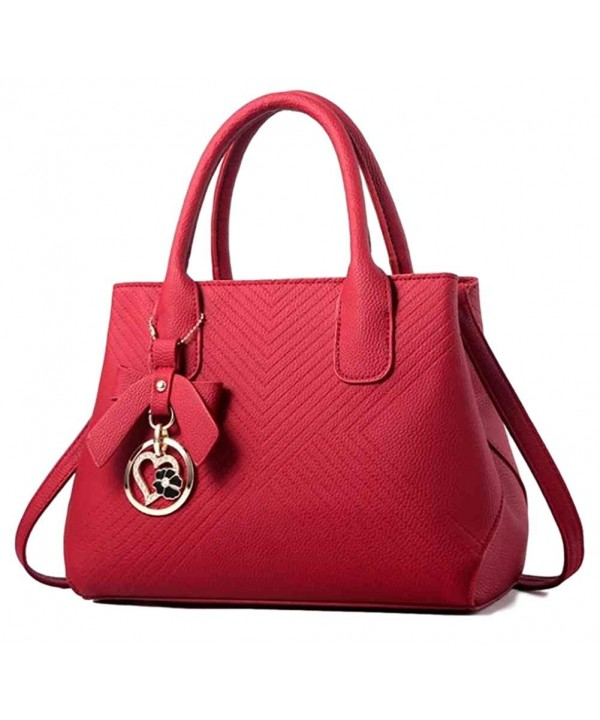 Fashion Leather Handbag Shoulder Satchel