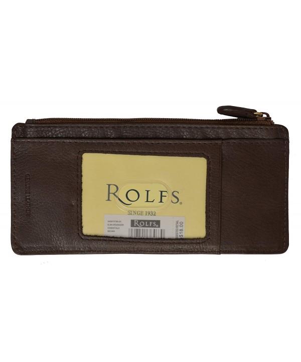 Rolfs Organizer Credit Holder Wallet