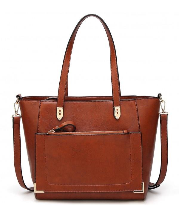 Women Handle Handbags Satchel Shoulder