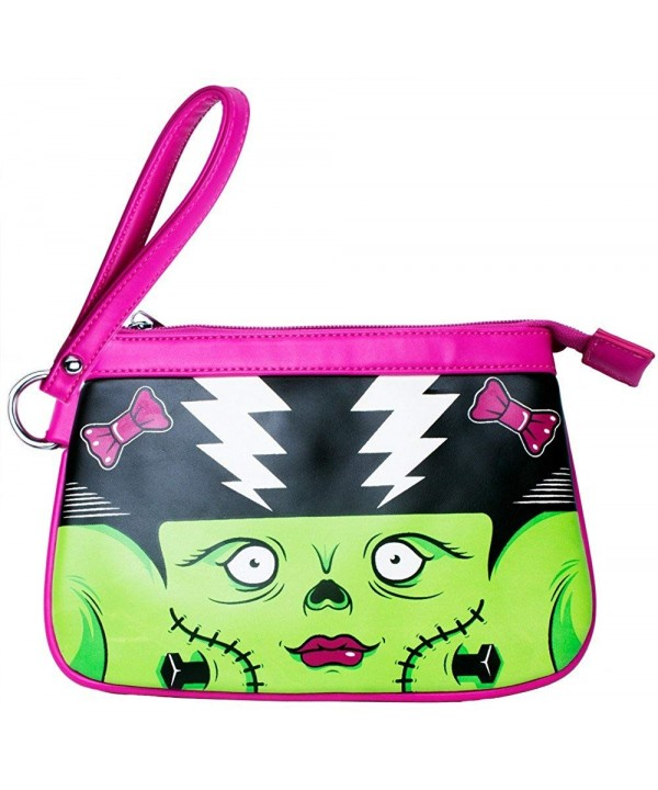 Sourpuss Monster Dame Clutch Purse