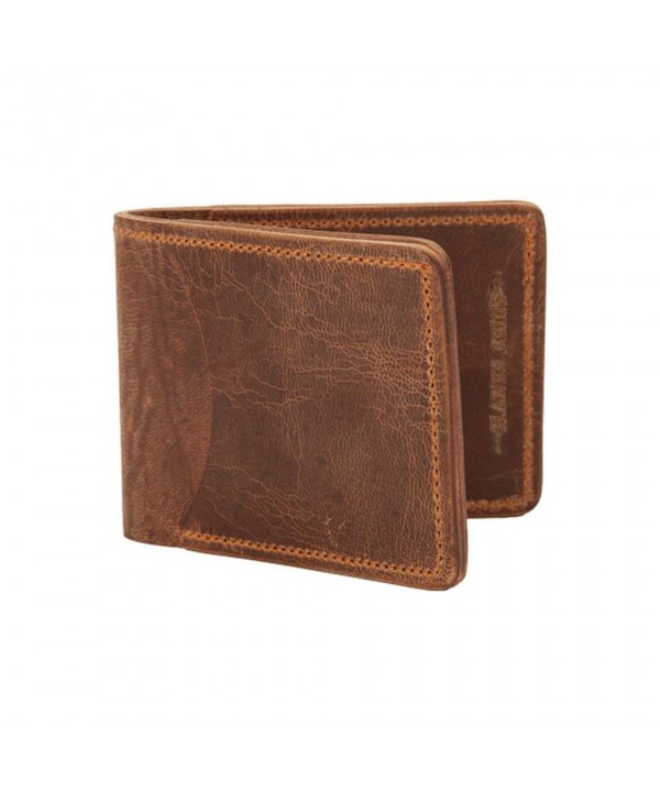 Hanks Tiny Leather Bi Fold Wallet