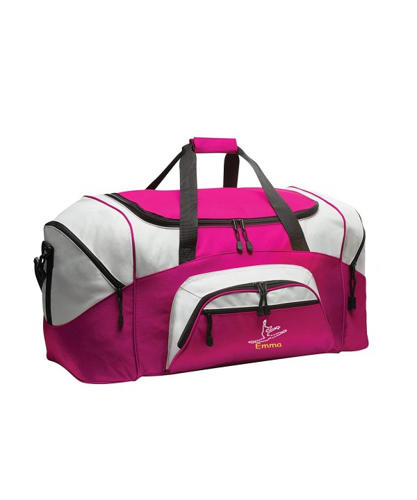 Dance Personalized Colorblock Duffle Tropical