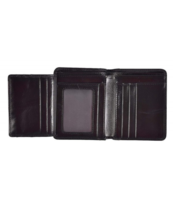 Bifold Wallet Vintage Genuine Leather
