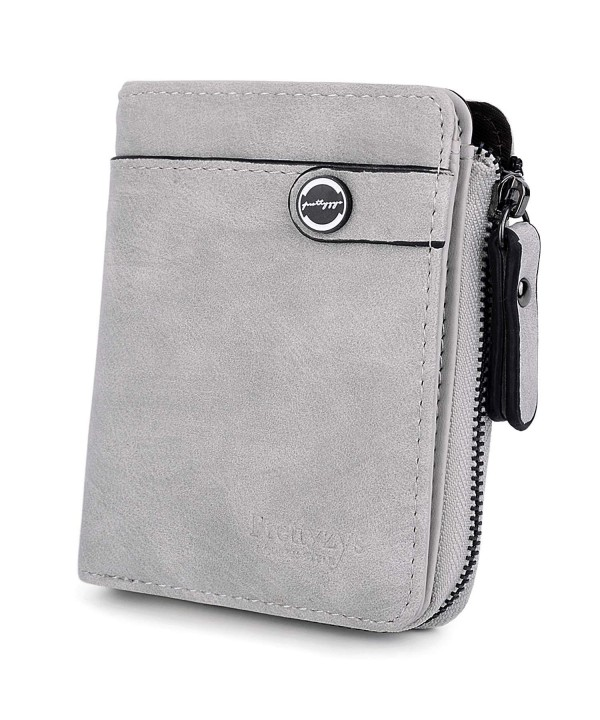 UTO Wallet Leather Holder Zipper