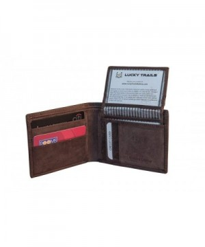 Lucky Trails Mushlin Leather Bifold