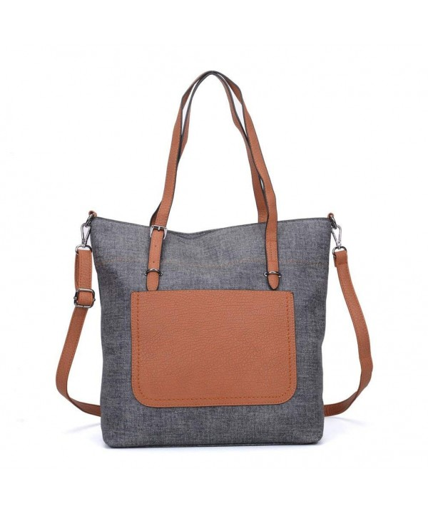 Women Shopping Tote Shoulder Handbags
