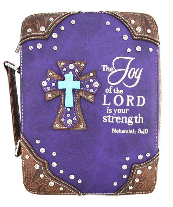Western Embroidered Scripture Messenger Crossbody