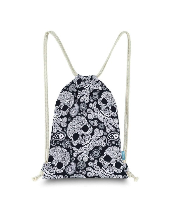 Miomao Drawstring Backpack Sackpack Halloween