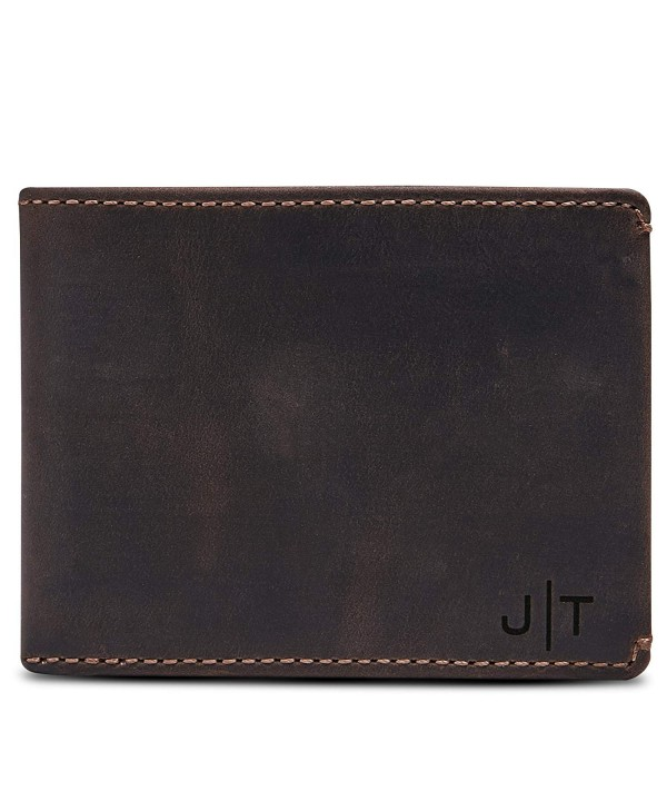 Co Wallet Monogrammed Wallet Divided Compartment Personalized Wallet Engraved