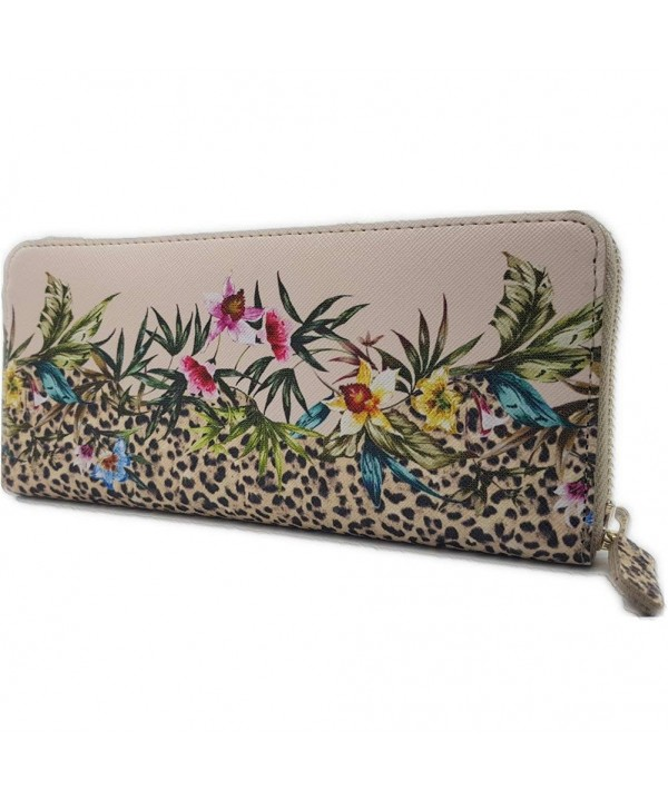 Louis Beauty Wallets Zip Around season Fashion