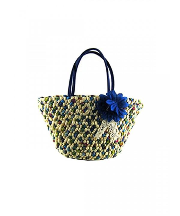 Sulida Colorful Flower Shoulder Handbags