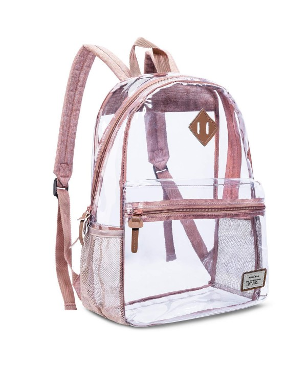 Backpack Transparent Lightweight See Through Rucksack