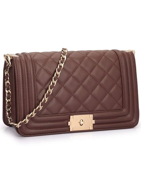 Leather Wallet Crossbody Shoulder Wristlet