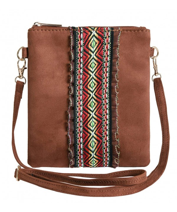 Pulama Crossbody Purse Jacquard Handbag