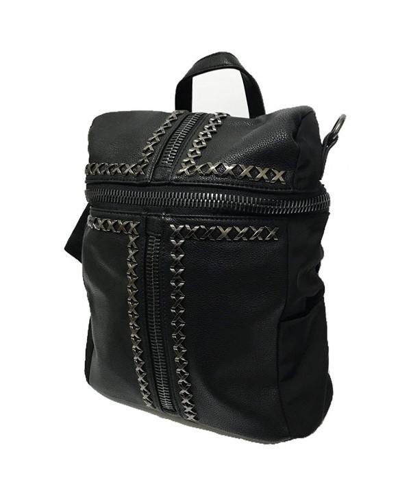 Convertible Black Backpack Daily Casual
