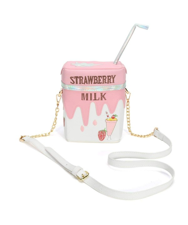 OURBAG Funny Strawberry Shoulder Crossbody