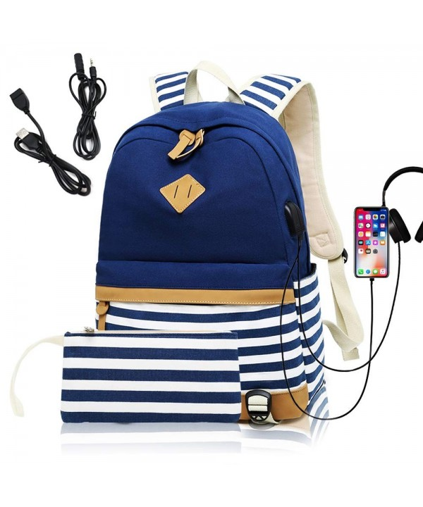 Backpack Charging Headphone Interface Tiannuofa