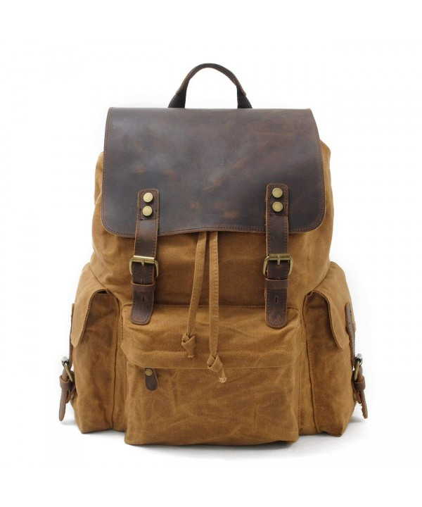 Vintage Genuine Book bag Backpack Rucksack
