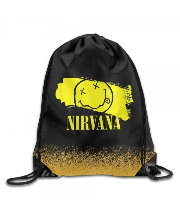 Nirvana Wallpapers Smiley White Rucksack
