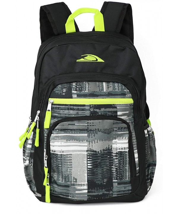 TrailMaker Kids Print Backpack Black