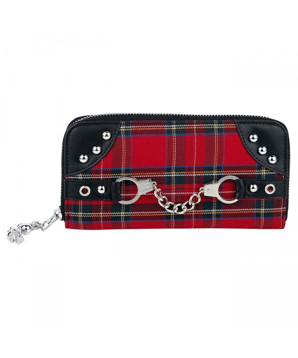 Banned Apparel Tartan Handcuff Around