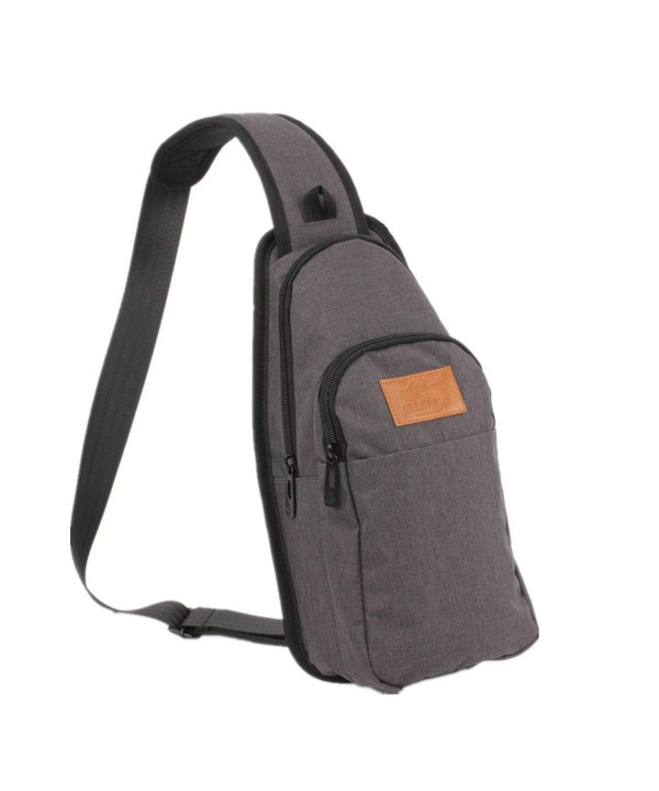 ALLCAMP Shoulder Unbalance Backpack multicolored