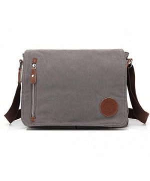 Sechunk Leather Messenger Shoulder Crossbody