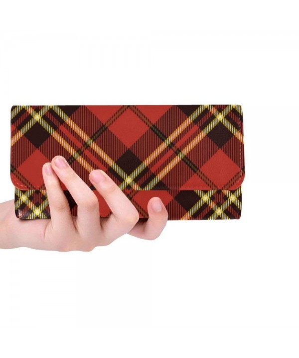 Trifold Clutch Wallets Traditional Scottish