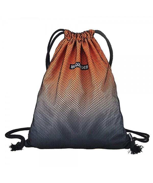 GADEWAKE Drawstring Backpack Gradient Sackpack