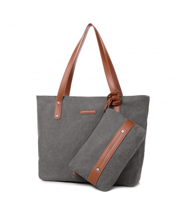 Sornean Portable Canvas Shoulder Handbag