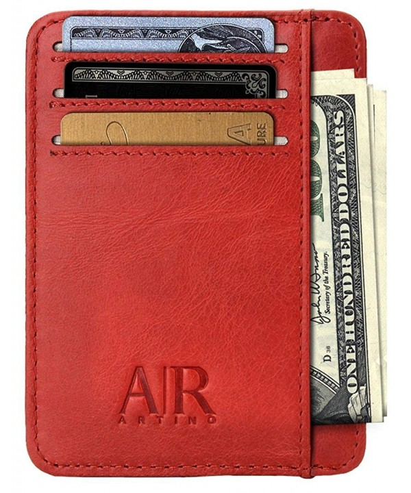 RFID Front Pocket Wallets Men