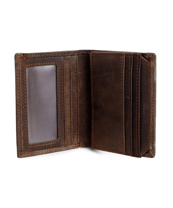 Clean Vintage Wallet Trifold Capacity