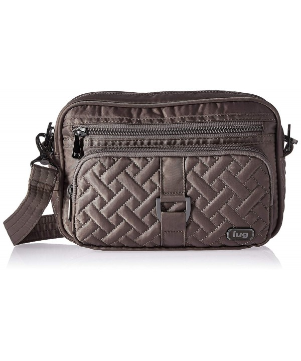 Lug Womens Crossbody Cross Walnut