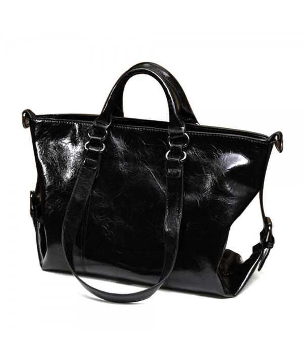 Handbag ISHOWDEAL Leather Business Shoulder