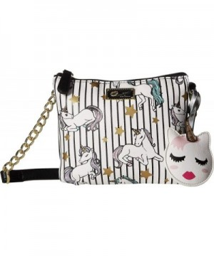 Luv Betsey Womens Compartment Crossbody