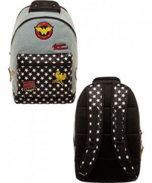 Comics Wonder Woman Backpack Patches