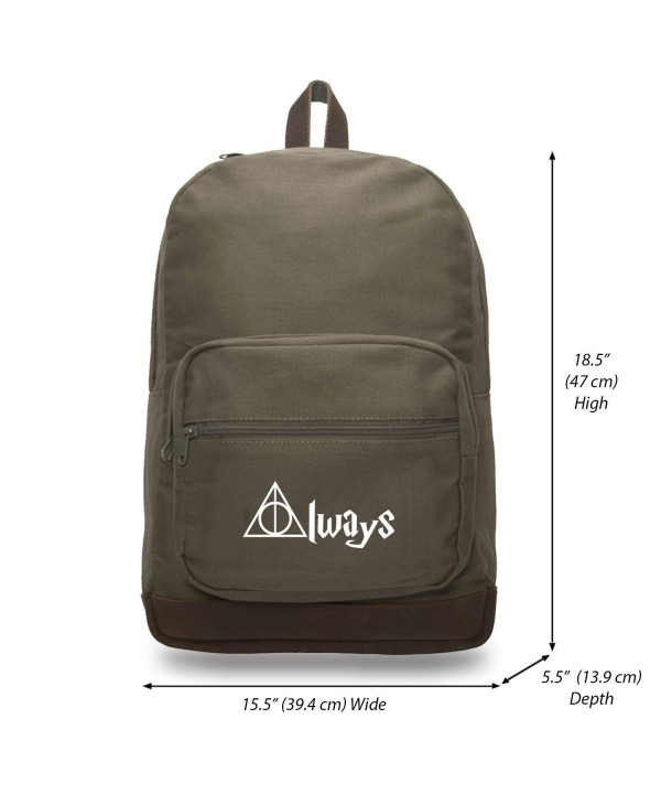 Always Potter Teardrop Backpack Leather