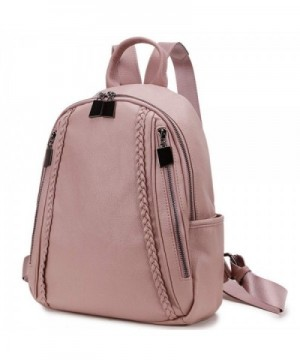 Backpack RAVUO Leather Rucksack Fashion