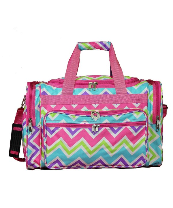 World Traveler Chevron Pink Chevr