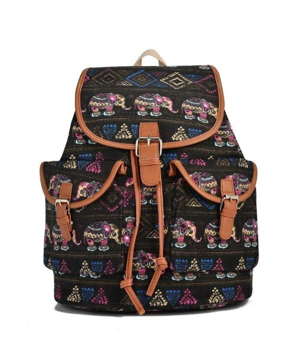 Hearty Trendy Elephant Exterior Backpack