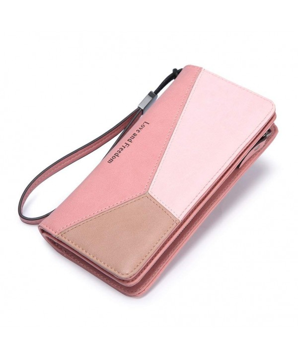 Wallet Leather Wristlet Fashion Organizer