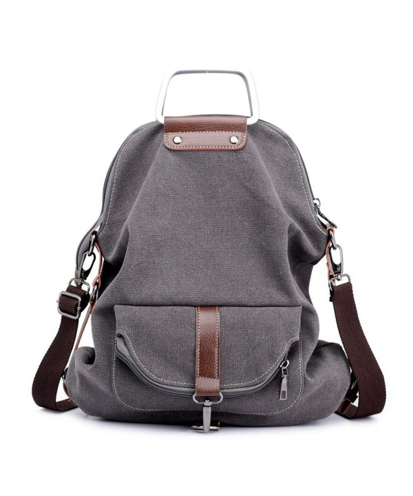 Vintage Backpack College Portable Rucksack