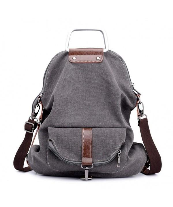 Vintage Backpack College Portable Rucksack