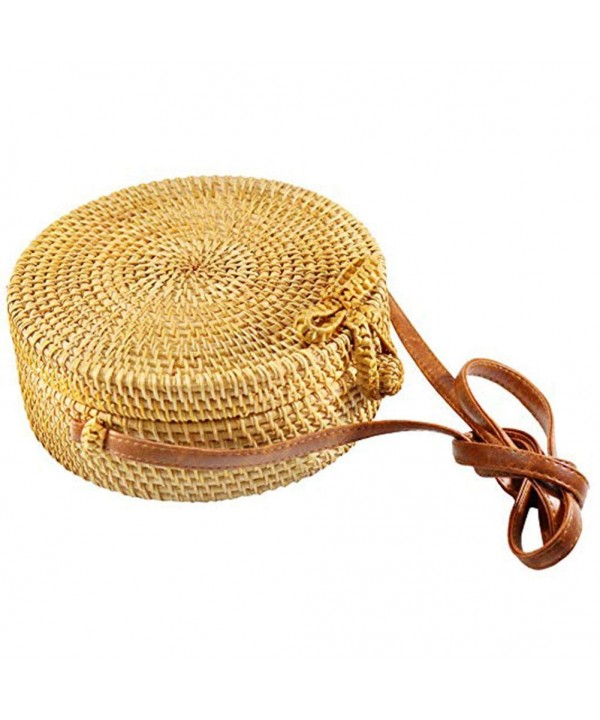 Zinuo Round Rattan Summer Shoulder