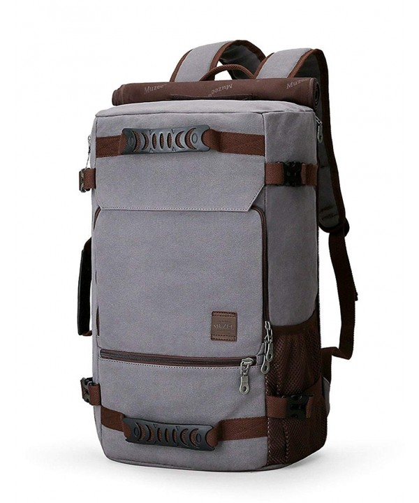 Muzee Backpack Canvas Capacity 15 6inch